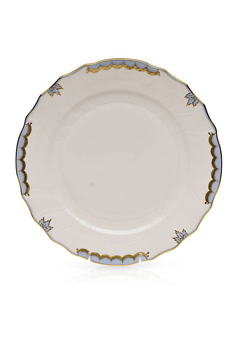 Herend Princess Victoria Light Blue Dinner Plate