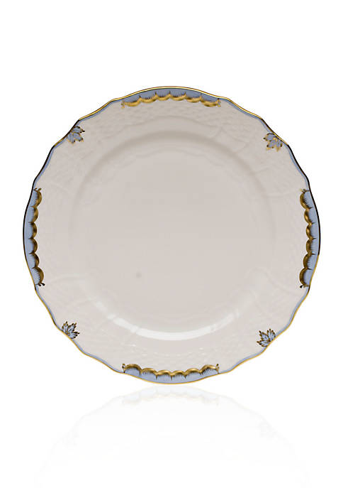 Herend Princess Victoria Light Blue Service Plate
