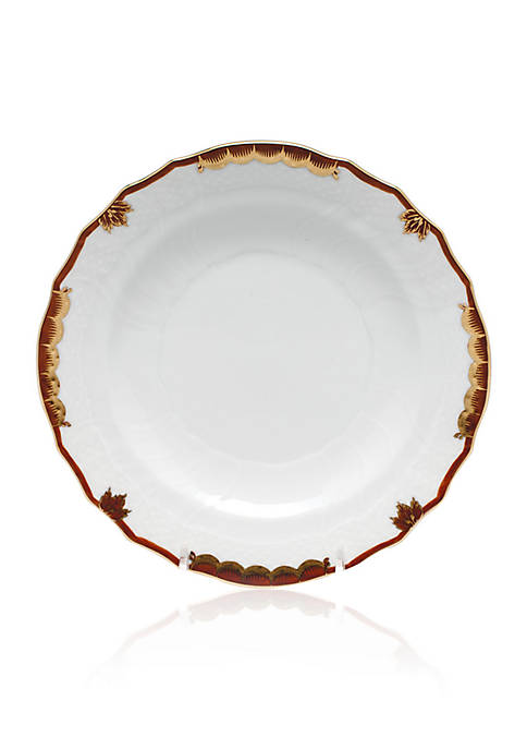 Brown Salad Plate