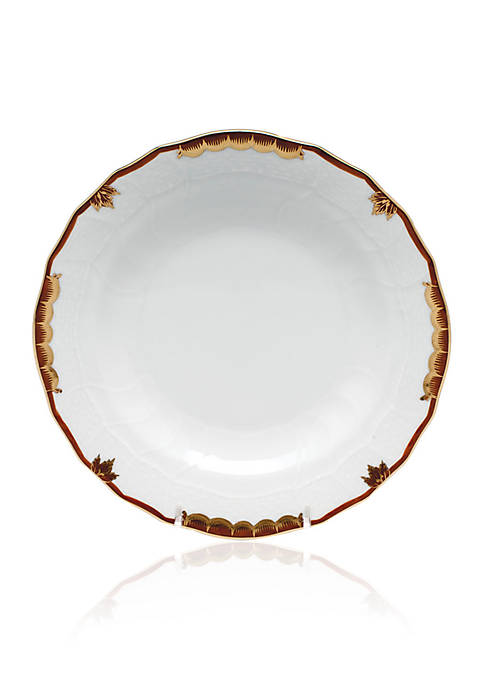 Herend Brown Dessert Plate