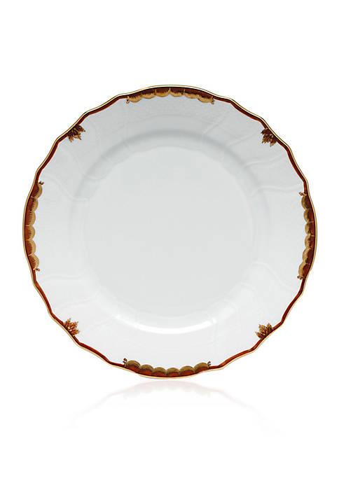 Herend Brown Dinner Plate