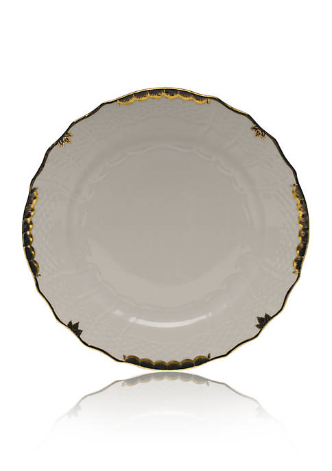 Herend Black Service Plate