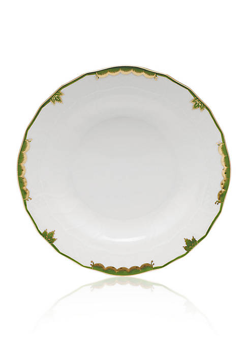 Herend Dark Green Dessert Plate