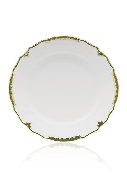 Herend Dark Green Dinner Plate