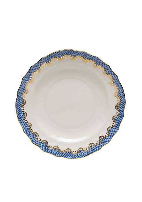Fishscale Blue Salad Plate