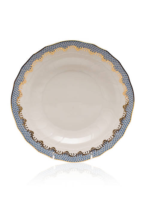 Herend Fish Scale Light Blue Dessert Plate Belk