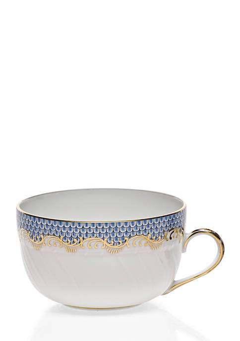 Fishscale Light Blue Cup
