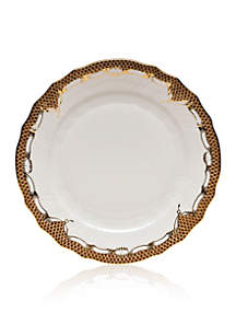 Fishscale Brown Place Setting