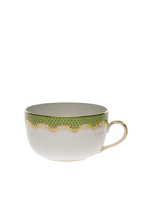 Herend Fishscale Green Canton Cup