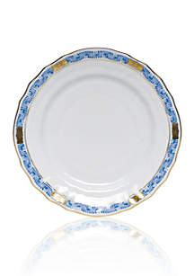 Herend Chinese Boutique Garland Blue Bread & Butter Plate 6-in.