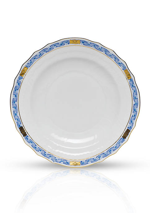 Chinese Boutique Garland Blue Salad Plate 7.5-in.