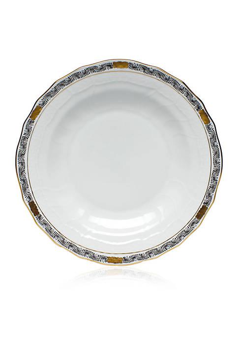 Chinese Bouquet Garland Dessert Plate - 8.25-in. D.