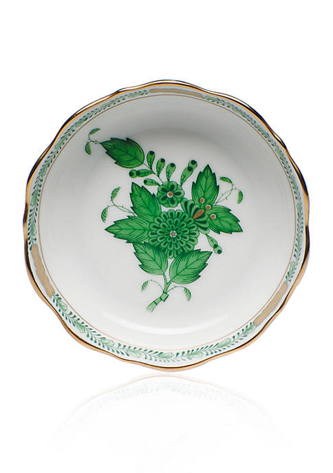 Herend Green Mini Scalloped Dish, 3.25-in.