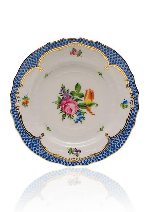 Printemps Blue Border Bread & Butter Plate Motif #2