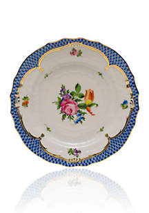 Printemps Blue Border Bread & Butter Plate Motif #2