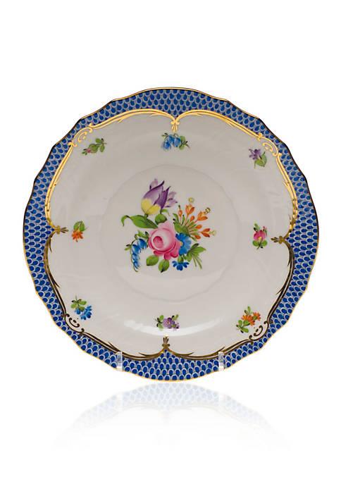 Herend Printemps Blue Border Salad Plate