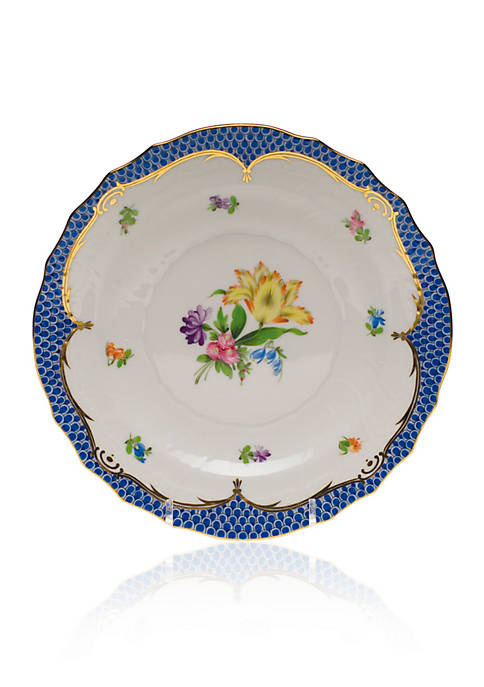 Printemps Blue Border Plate