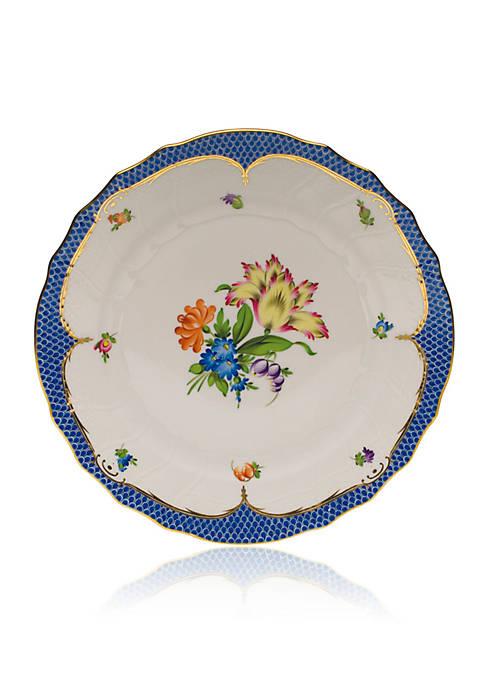 Printemps Blue Border Dinner Plate