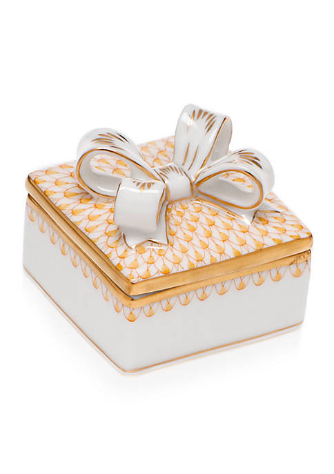 Box with Bow - Butterscotch