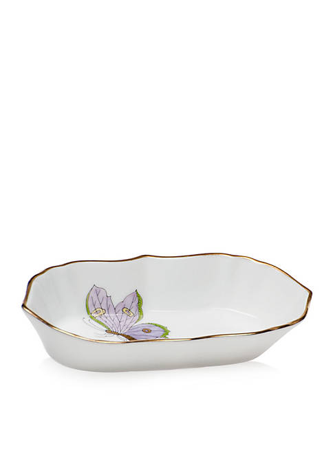 Herend 5-in. x 1-in. Narrow Pin Dish