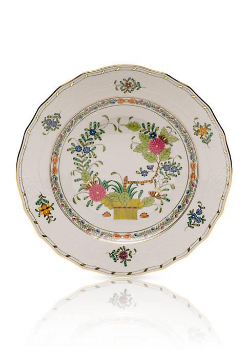 Indian Basket Dessert Plate -  8.25-in. D.