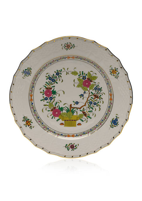 Herend Indian Basket Service Plate