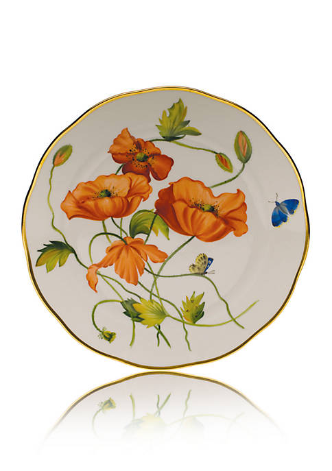 Herend American Wildflowers Dinner Plate