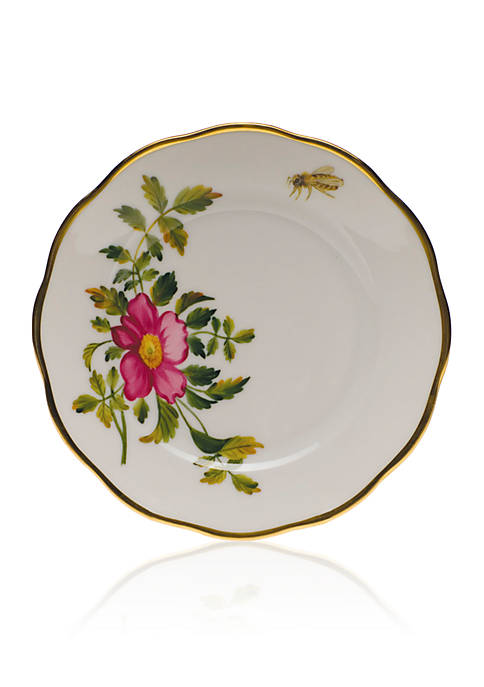 Herend American Wildflowers Bread & Butter Plate