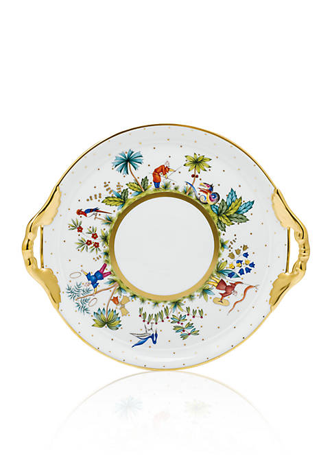 Herend Bold Cake Plate