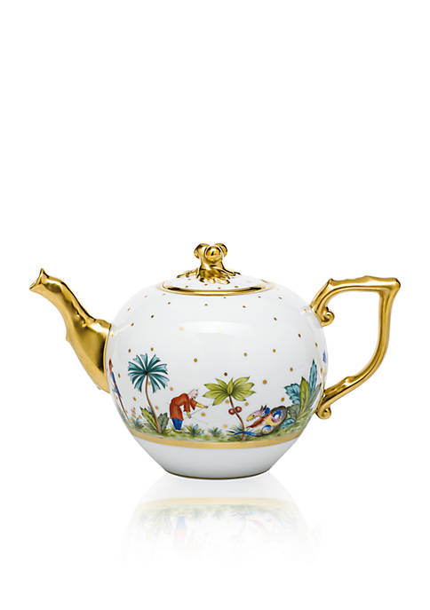 Herend Bold Tea Pot w/ Twist