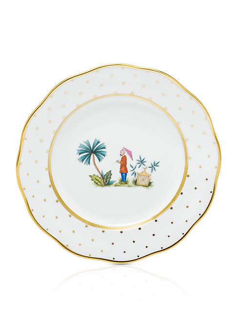 Demure Dessert Plate - Motif #2