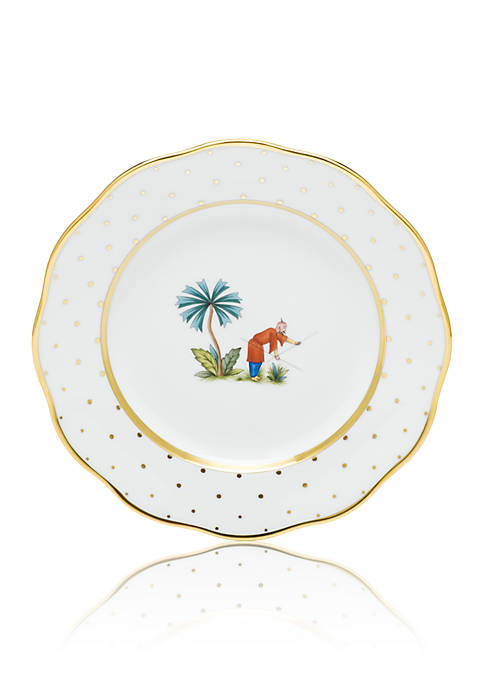 Demure Dessert Plate - Motif #6