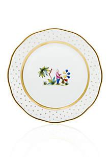 Demure Dinner Plate - Motif #1