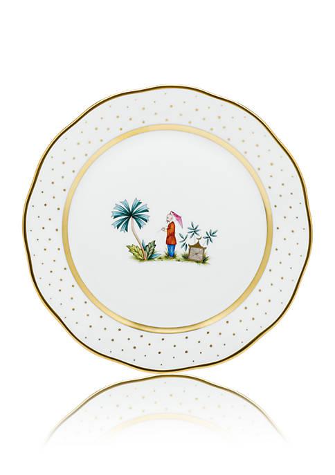 Demure Dinner Plate - Motif #2