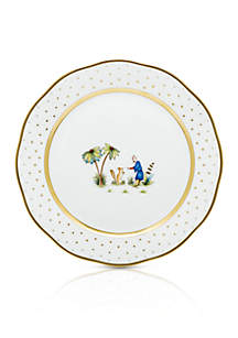 Demure Dinner Plate - Motif #3