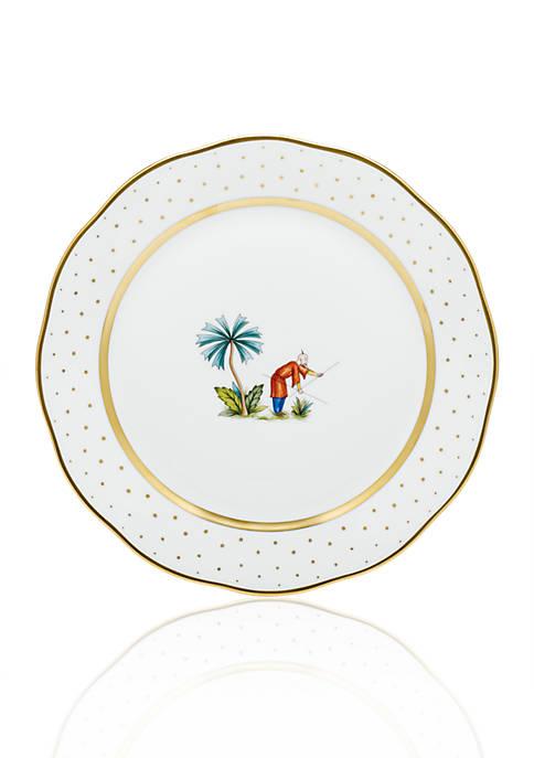 Demure Dinner Plate - Motif #6