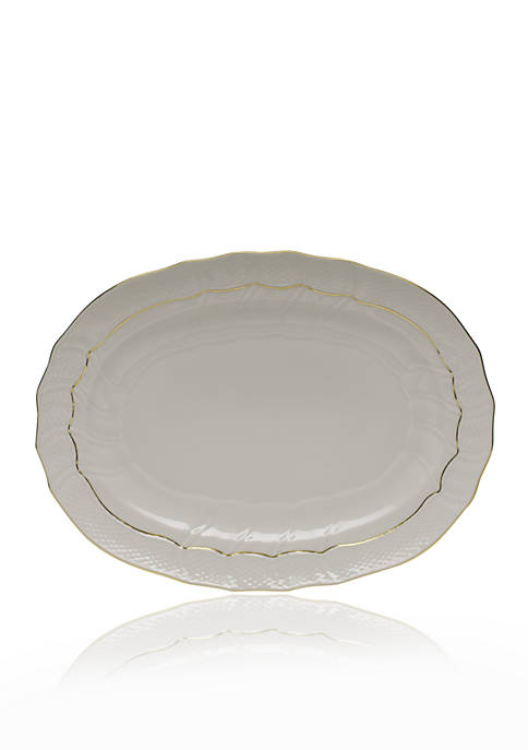Herend Golden Edges Platter