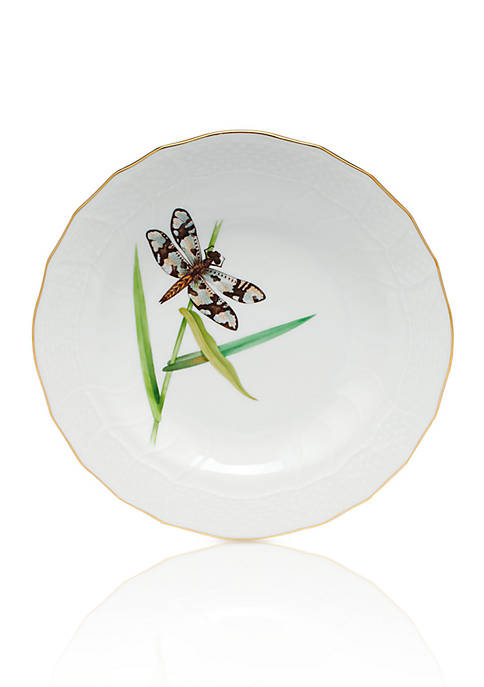 Herend Dragonfly Dessert Plate