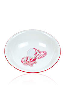 Elephant Baby Bowl - Pink