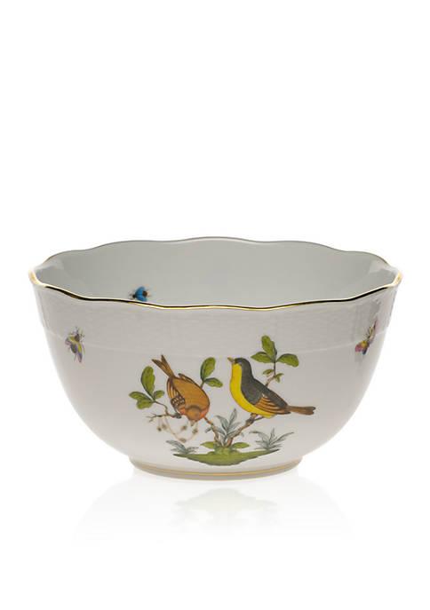 Herend Rothschild Bird 7.5-in. Round Bowl