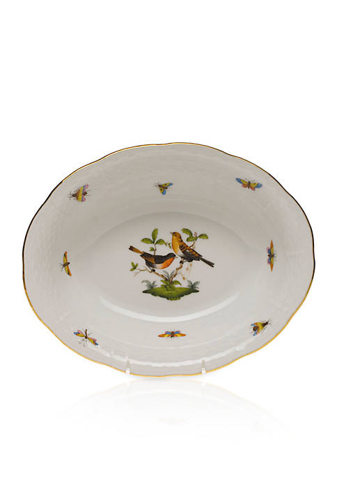 Herend 10-in. L X 8-in. W Oval Vegetable