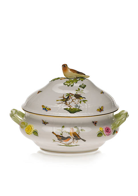 Rothschild Bird Tureen w/Bird