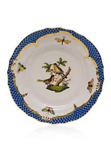 Blue Border Bread & Butter Plate - Motif #8