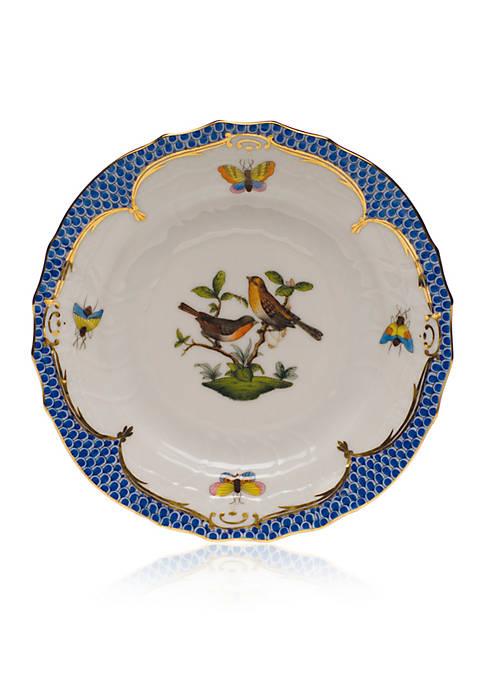 Blue Border Bread & Butter Plate - Motif #9
