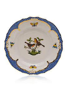 Herend Blue Border Bread & Butter Plate - Motif #9