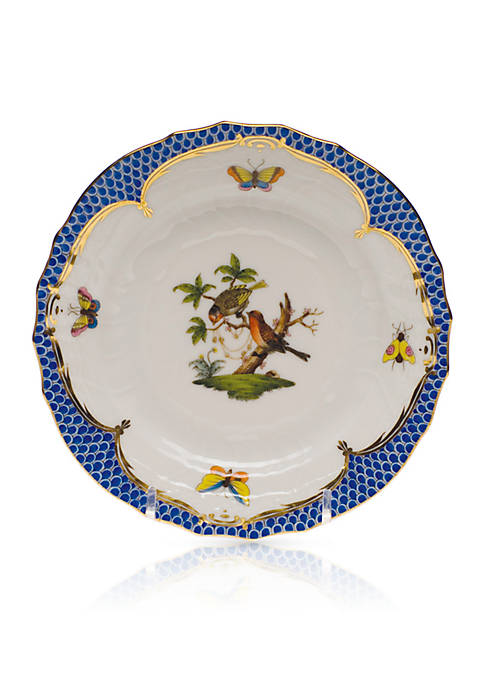 Herend Blue Border Bread & Butter Plate