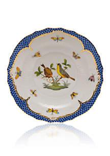 Herend Blue Border Salad Plate - Motif #7
