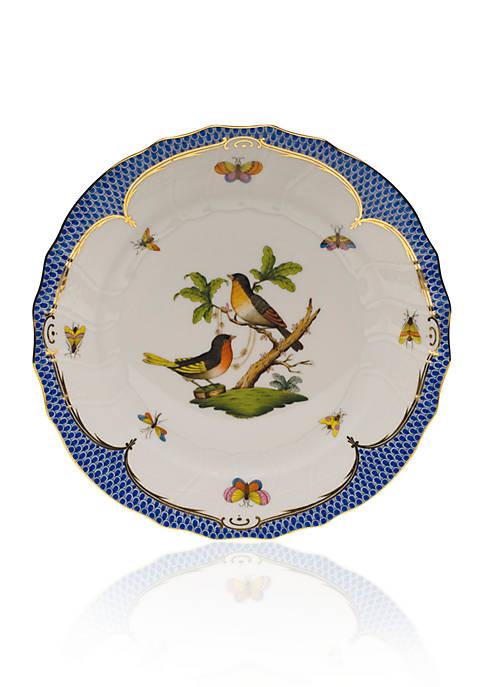 Herend Blue Border Dinner Plate