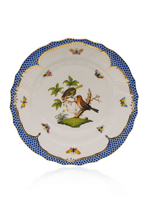 Herend Blue Border Dinner Plate