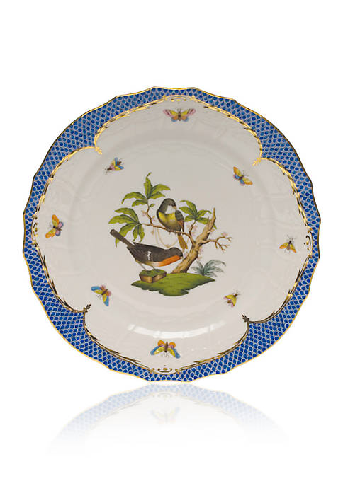 Herend Blue Border Service Plate